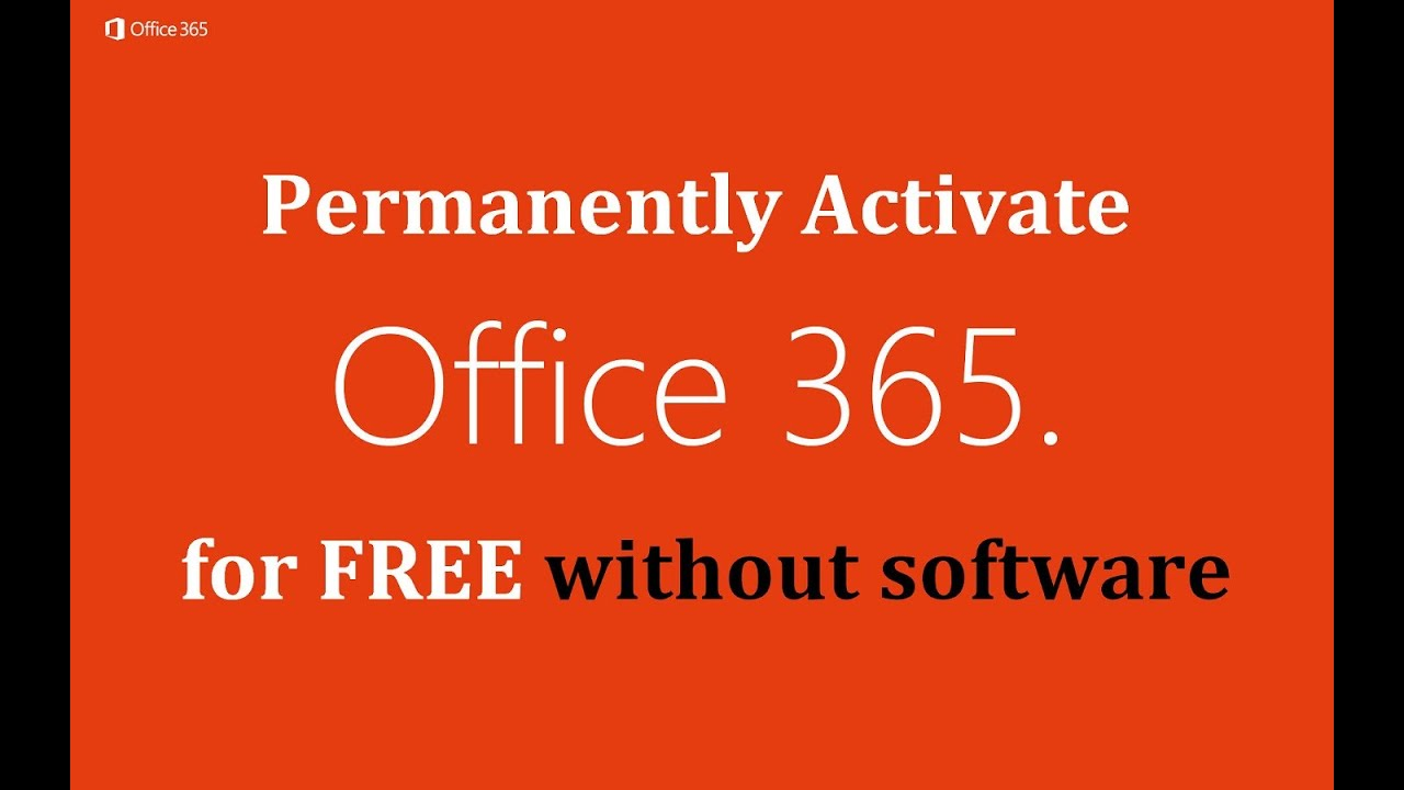 Legal way to use Office 365 totally FREE, without paying a dime