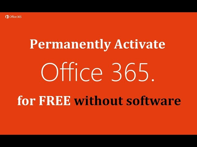 office 365 free activation code