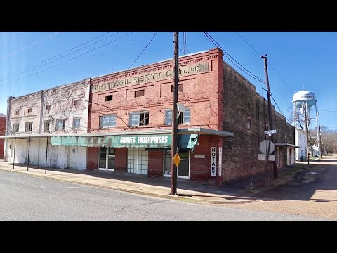 The Empty Towns & Villages of Louisiana - Cross Country Road Trip Day Four / 9 States in 9 Days
