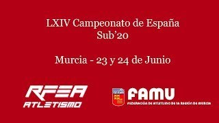 LXIV Campeonato de España Sub