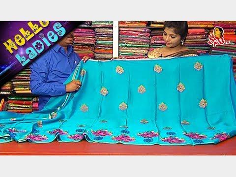 Lightweight Sarees || Bengal Silk, Chiffon Fabrics || Hello Ladies || Vanitha TV
