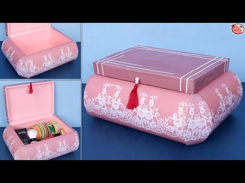 DIY... Plastic Bottle Jewelry Box !! Making at Home || DIY Organizer !!!