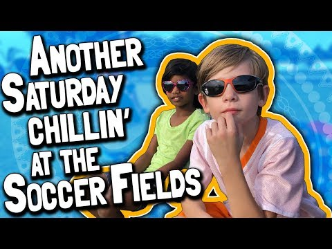 Another Saturday Chillin at the Soccer Fields (April 21, 2018)