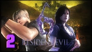 Resident Evil 6 Ep. 2 AT THE PAUSE MENU
