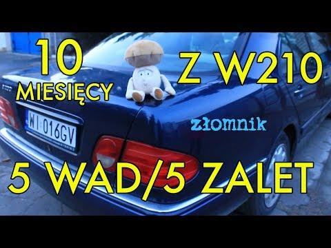 Zomnik Mercedes W210 po 10 miesicach jazdy. 5 wad i 5 zalet