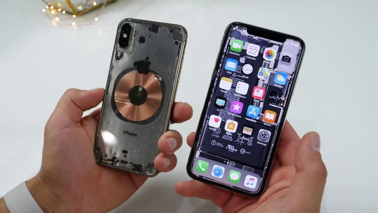 watch fb58f 2bfa5 Broken iPhone XS !! What do you see inside when you break iphone xs