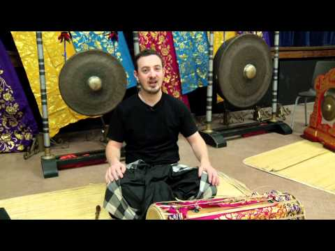 Teach & Play Balinese Gamelan