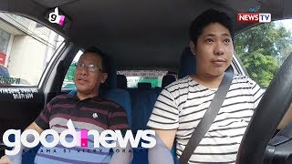Good News: Problemadong taxi driver, pakinggan kaya ng pasahero? | Social experiment