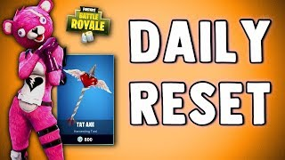 FORTNITE DAILY SKIN RESET - CUDDLE TEAM LEADER - Fortnite Battle Royale New Daily Items in Item Shop