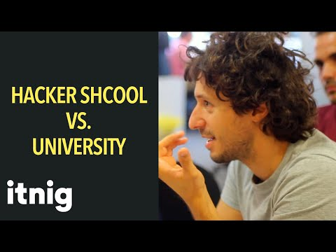 Hacker Schools vs. Universities is there room for both?