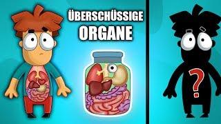 Das passiert mit deinem Körper, wenn man diese 5 Organe entfernt.
