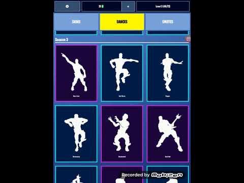 All Fortnite Dances Skins And Emotes