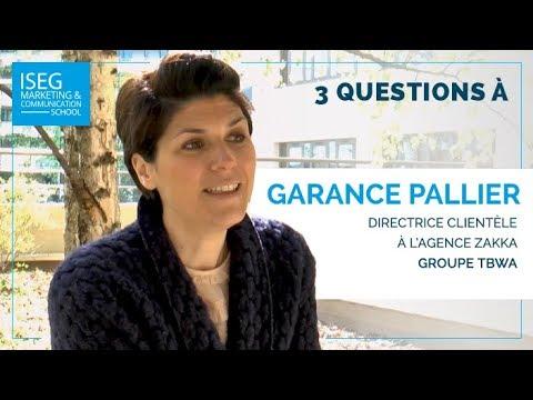 3 questions à Garance Pallier, Directrice clientèle chez l'agence Zakka