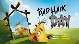 Сердитые птички Angry Birds Toons 3 сезон 2 серия День плохих волос все серии подряд