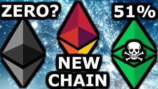 Ethereum to ZERO? Eth Chain Split. ProgPow & ETC 51 % Attack. GPU vs ASIC Miners.
