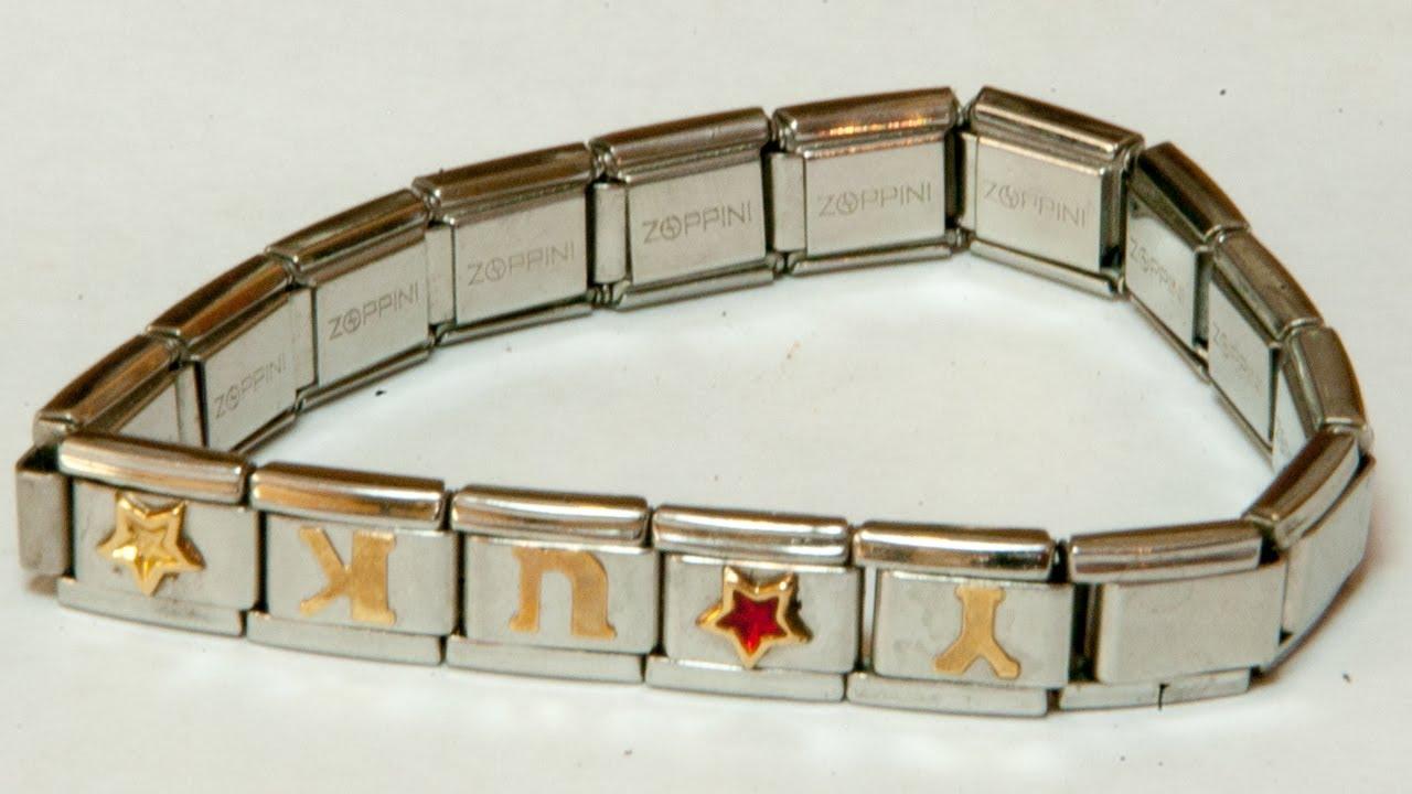 済 295 円 ZOPPINI bracelet ゾッピーニ ブレスレット