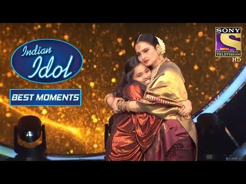 Rekha Ji और Shanmukh ने दिया Duet Performance | Indian Idol Season 12