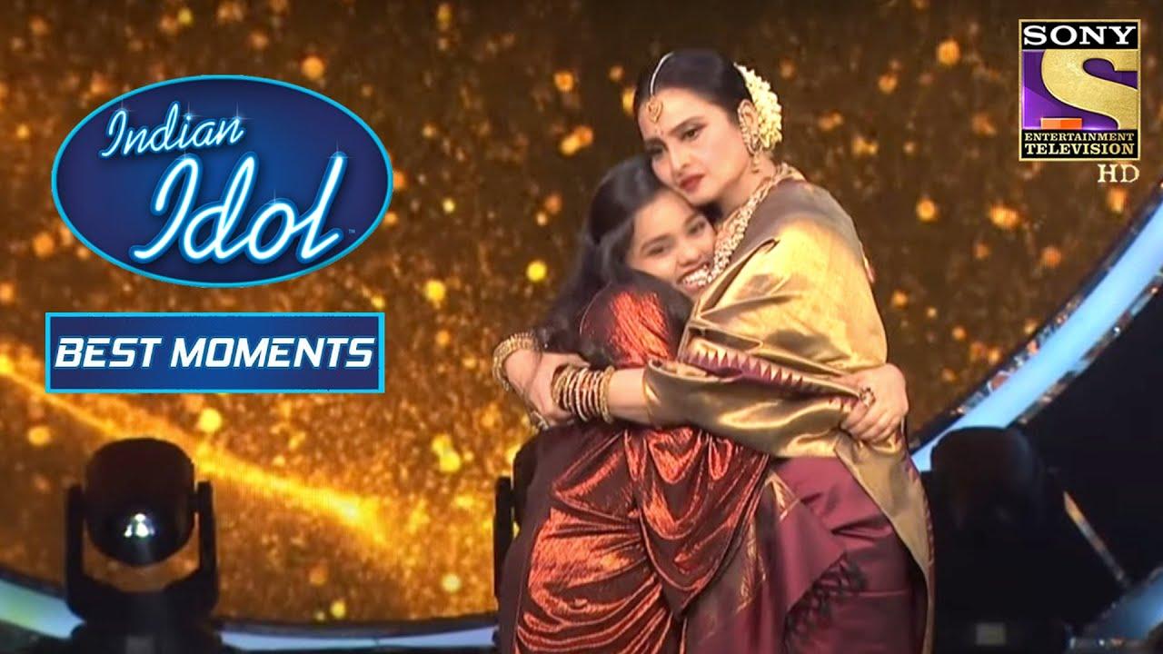Download Rekha Ji और Shanmukh ने दिया Duet Performance | Indian Idol Season 12