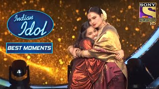 Rekha Ji और Shanmukh ने दिया Duet Performance | Indian Idol Season 12