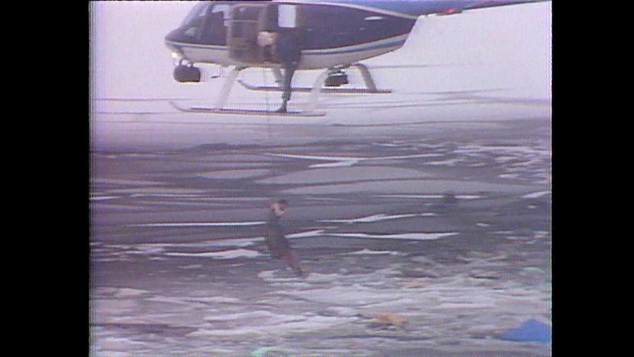 The moment Air Florida Flight 90 crashed into the Potomac River in  Washington D C  in 1982