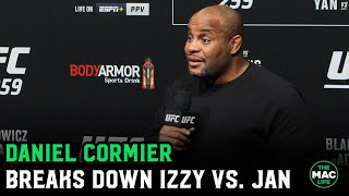 Daniel Cormier breaks down Israel Adesanya vs. Jan Blachowicz; Talks Adesanya fighting Jon Jones