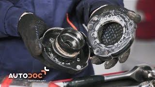 Як поміняти опора амортизатора на MERCEDES-BENZ W211 E ІНСТРУКЦІЯ | AUTODOC