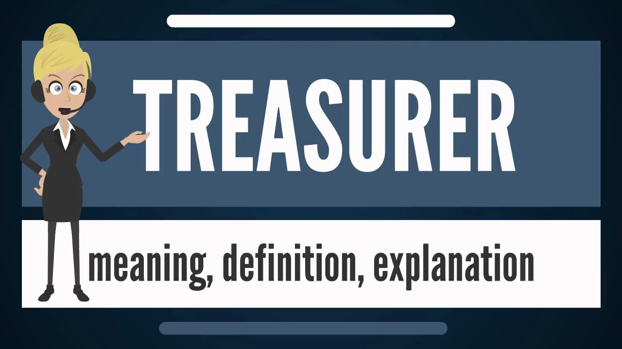 what is treasurer what does treasurer mean treasurer meaning