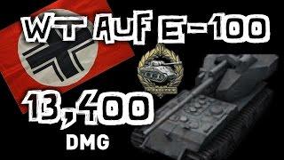 World of Tanks    Waffentrager Auf E-100 - 13,000 Damage...