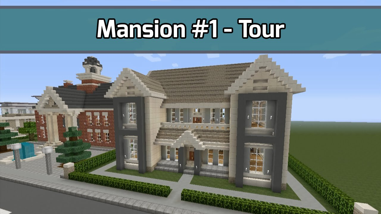 Minecraft Mansion 1 Tour 6 000 Blocks City Texture Pack Xbox 360 Youtube