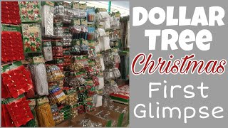 Dollar Tree Christmas? • first quick peak of crafting supplies