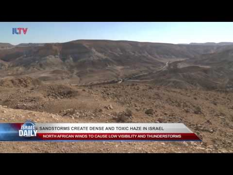 Your Morning News From Israel - March 13, 2017.
