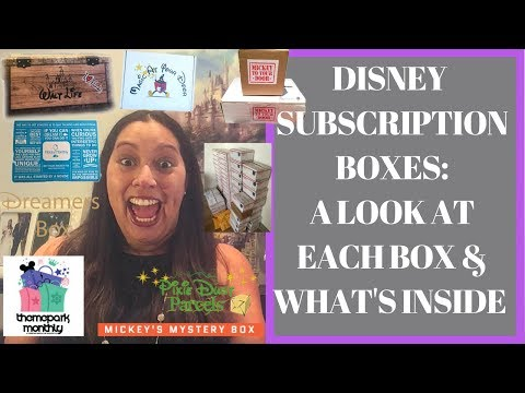 Disney Subscription Boxes: Which One Gives The Best Bang for Your Buck?! | November 2017