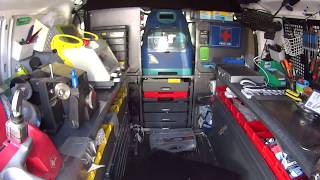 Locksmith Van Example 1 - VW Caddy Setup