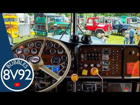 How to shift Two stick 6+4 Spicer Transmission Peterbilt 359