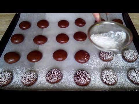Мягкое шоколадное печенье! Быстрый и простой рецепт! / Soft Cookie!