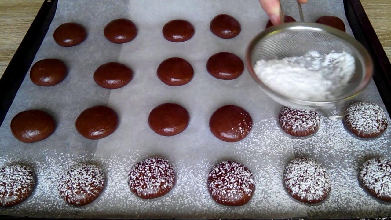 Кофейно-шоколадное печенье с кокосовой и миндальной мукой ... | 720x1280