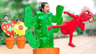 Sự Tích Về Các Loài Cây ❤ Ý Nghĩa Chiếc Gai Của Cây Xương Rồng - Trang Vlog