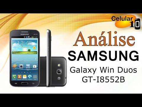Análise: Samsung Galaxy Win Duos GT-I8552B ( celular10 )