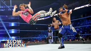 Watch SmackDown LIVE's incredible main event in slow-motion: Exclusive, May 27, 2017 thumbnail