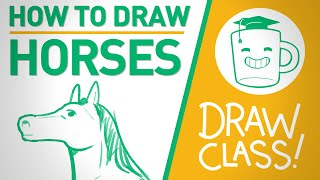 How To Draw Horses - DRAW CLASS