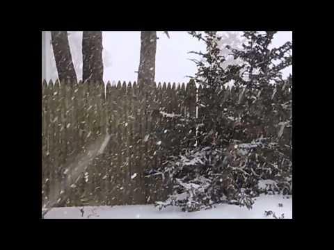 Nevasca em Marblehead, Massachusetts (EUA)