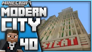 Minecraft Xbox One : Building a Modern City(EP.40) -Restaurant nearly done!