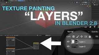 How to texture paint in Blender 2.8 with layers just like in Photoshop