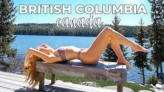 ALONE in CANADIAN WILDERNESS!! Cariboo, British Columbia travel vlog