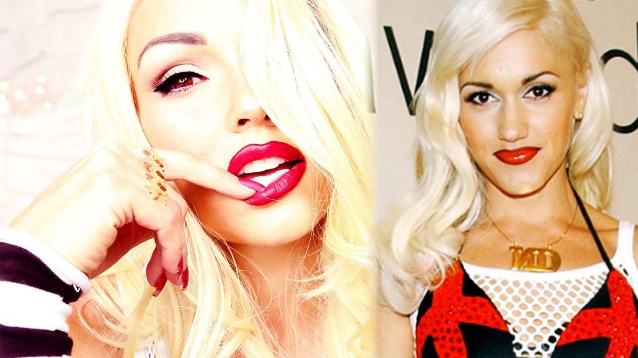 Gwen Stefani MakeUp Transformation
