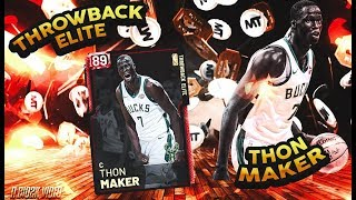 RUBY THON MAKER GAEMPLAY! 43 POINT DEBUT FOR THE ULTIMATE DEMIGOD OF MYTEAM! NBA 2K19