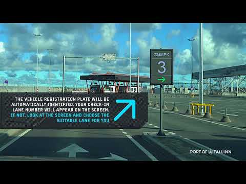 Video Guide: How to drive your car on to a vessel in Tallinn