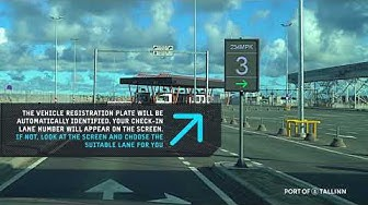 Video Guide: How to drive your car on to a vessel in Tallinn's Old City Harbour Terminal A