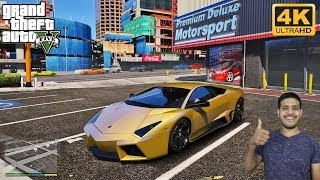 GTA 5 : Buying Pure Gold Lamborghini Worth 4,500,000 USD 🤑