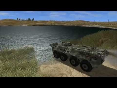 APC BTR-80 Driving simulator